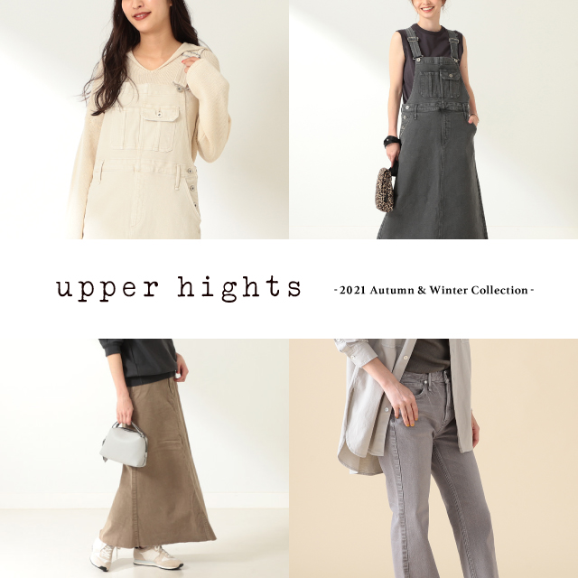 <upper hights> 2021 Autumn & Winter Collection